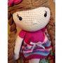 Muñeca A Crochet Patas Largas