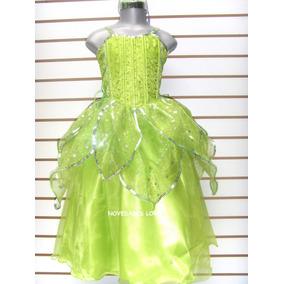 Disfraz Campanita Vestido Princesa Anna Elsa Sofia Merida