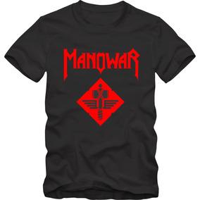 Manowar Camiseta Tradicional T-shirt Algodão 30.1 Silk