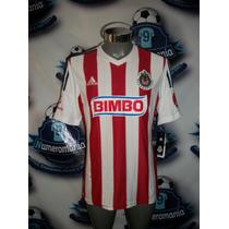 Remate Jersey Chivas Local Adidas Original 2014-2015