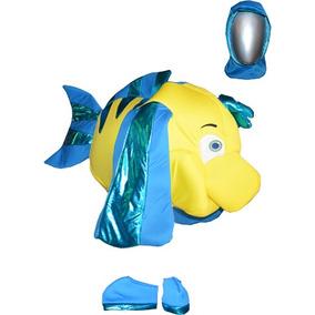 Disfraz De Pez Flaunders De La Sirenita