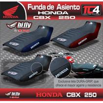 Funda Asiento Twister Antideslizante Tc4 Honda Cbx 250 Negro