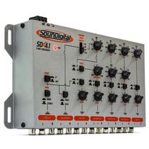 Crossover Equalizador Soundigital Audio Control Sdx4.1 5 Via