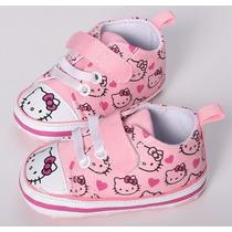 Sapato Tenis De Bebe Importado All Star Hello Kitty Menina