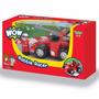 Wow Robbie Racer Auto A Fricción Con Figura Extraíble