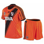 Camiseta Y Short River Plate Homenaje 30 Años Naranja Oferta