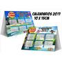 Calendario 2017 Triangulo 11x15cm Full Color Almanaque