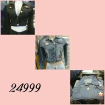 Chaquetas De Jeans Para Damas A La Moda