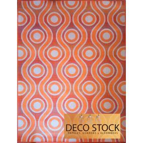 Alfombra Carpeta Rústica Naranja Natural 1,60 X 2,30 M