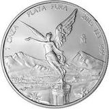 Onza Libertad Plata Pura 0.999 Con Capsula Gran Inversion