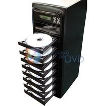 Torre Duplicadora De Dvd E Cd Com 9 Gravadores Samsung