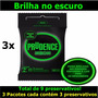 Camisinha Brilha No Escuro Prudence Neon Preservativo 3 Uni