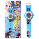 Relógio Projetor De Imagens Frozen (menor Preço)