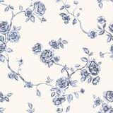 Empapelado Muresco Iara 711 Liberty Flores Azul Blanco
