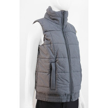 Chaleco Adidas Mujer Gris