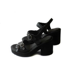 Zapatos Taco Mujer Noche Vestir Cuero Promo Oferta Outlet
