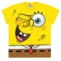 Camiseta Infantil Bob Esponja - Nickelodeon