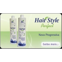Escova Progessiva Hair Style De Cupuaçú Oil De Macadãmia