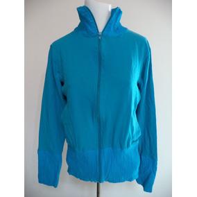 Poleron Talla L Mujer Azul - Vestuario y Calzado en Mercado Libre Chile d611736c4ee16
