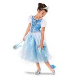 Vestido Disfraz Cenicienta Original Disney Store T 2 Años