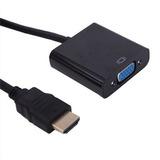 Conversor P/ Ligar Notebook Em Monitor Vga Db15 Hdmi P/ Vga