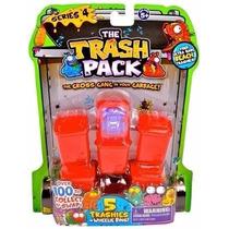 Trash Pack Lata De Lixo Série 4 Com 5 Trashies 3004