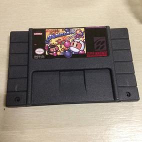 Fita Super Bomberman Para Super Nintendo Snes Paralela