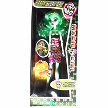 Boneca Monster High Lady Gaga Magic Girl Articulada Specta
