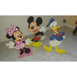 Muñeco Mickey Mouse Y Donald Para Decorar Fiestas