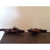 Lote Submarinos De Metal Sacapuntas Escala 1/64