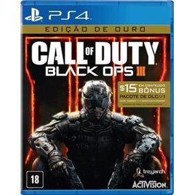 Call Of Duty Black Ops 3 Edição De Ouro(míd Física) Ps4 Novo