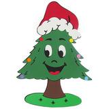 Árvore De Natal Com Gorro Em Eva 63cm De Altura