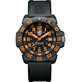 Luminox Navy Seal Colormark Carbono Naranja A.3059 Diego Vez