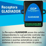 Receptora Versatil De Controles Remoto Gladiador