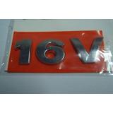 Emblema 16v Cromado Gol/parati G3 Tampa Traseira Linha Vw