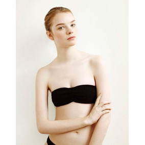 Oysho Clean Collection Ruched Bra L #177