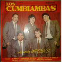 Vinilo Los Cumbiambas / Con Estilo Imperial