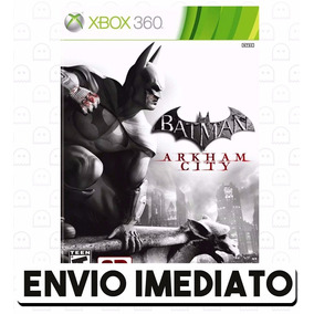 Batman Arkham City Xbox 360 Código De 25 Dígitos Digital