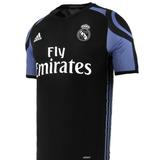 Camiseta Real Madrid Negra Oferta 2017 Adizero