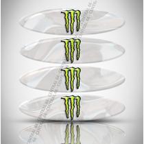 Refletivos Capacete Monster Honda Xr 200 R Kit 4 Adesivos R