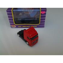 Trenes Ho Accesorios Tractor Volvo Rojo Model Power