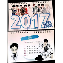 Calendario 2017 Superjunior Suju Envio Gratis Kpop