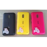 Tapa Trasera Original Nokia Lumia 620-tomo Art-casa Pompeya