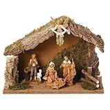 Pesebre Fontanini 5 Piezas De Navidad Italiana Nacimiento E