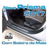 Soleiras Protetoras Novo Prisma 2017 + Soleira Da Mala
