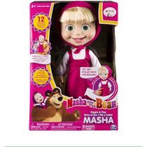 Muñeca Masha Y El Oso Canta Y Habla