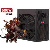 Fonte Para Pc Gamer Atx 500w Reais Super Silenciosa Bivolt