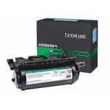 Cartucho Toner Lexmark T644 Alto Rendimiento 21k No. 64080hw