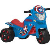 Ban Moto Elétrica Capitão América 6v