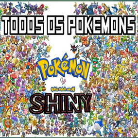 Pokemon Shiny Or/as X/y Item A Sua Escolha